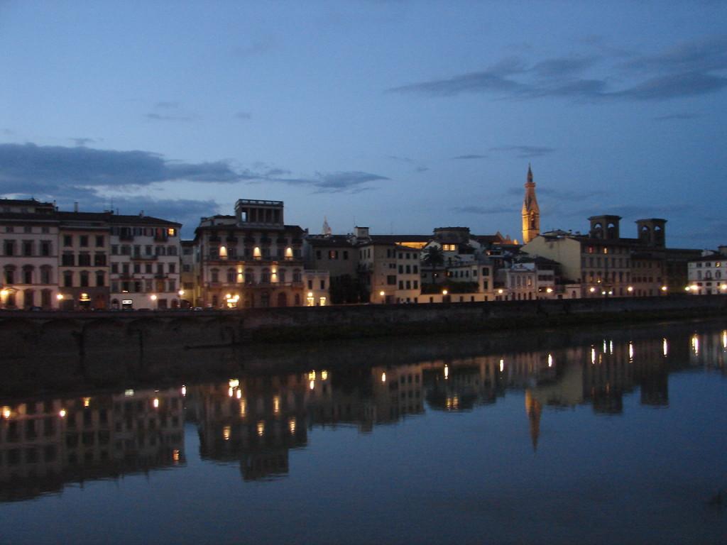 Como não ser poeta ou artista em Florença?!