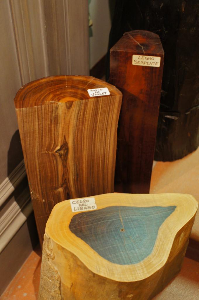 Tipos de madeira usados
