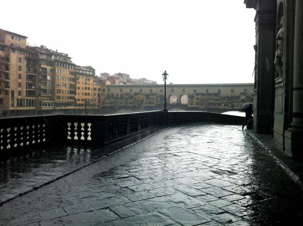 Mesmo com chuva, Florença é tão linda quanto com Sol