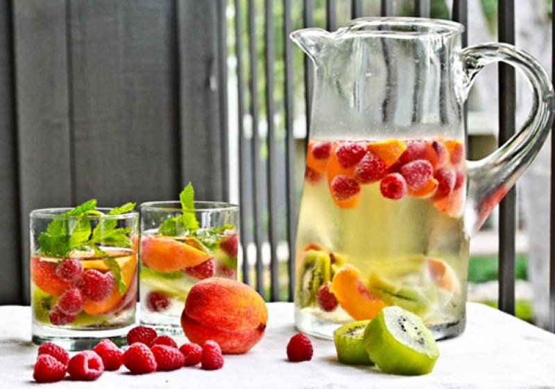 agua aromatizada