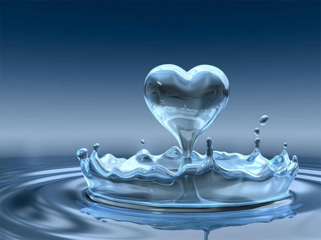 agua coraçao