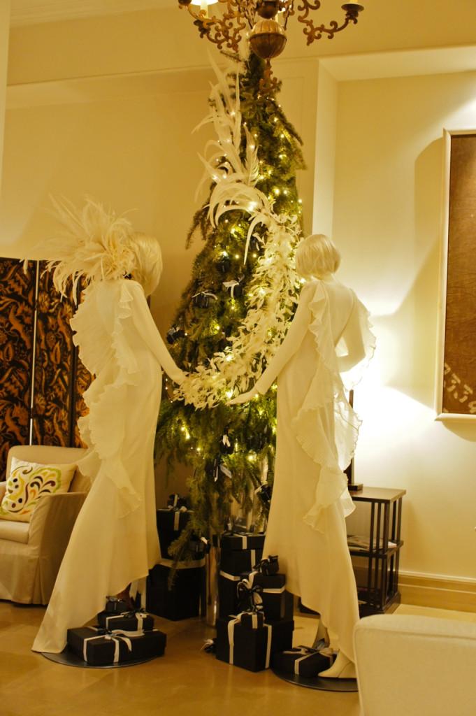 A decoração do Hotel