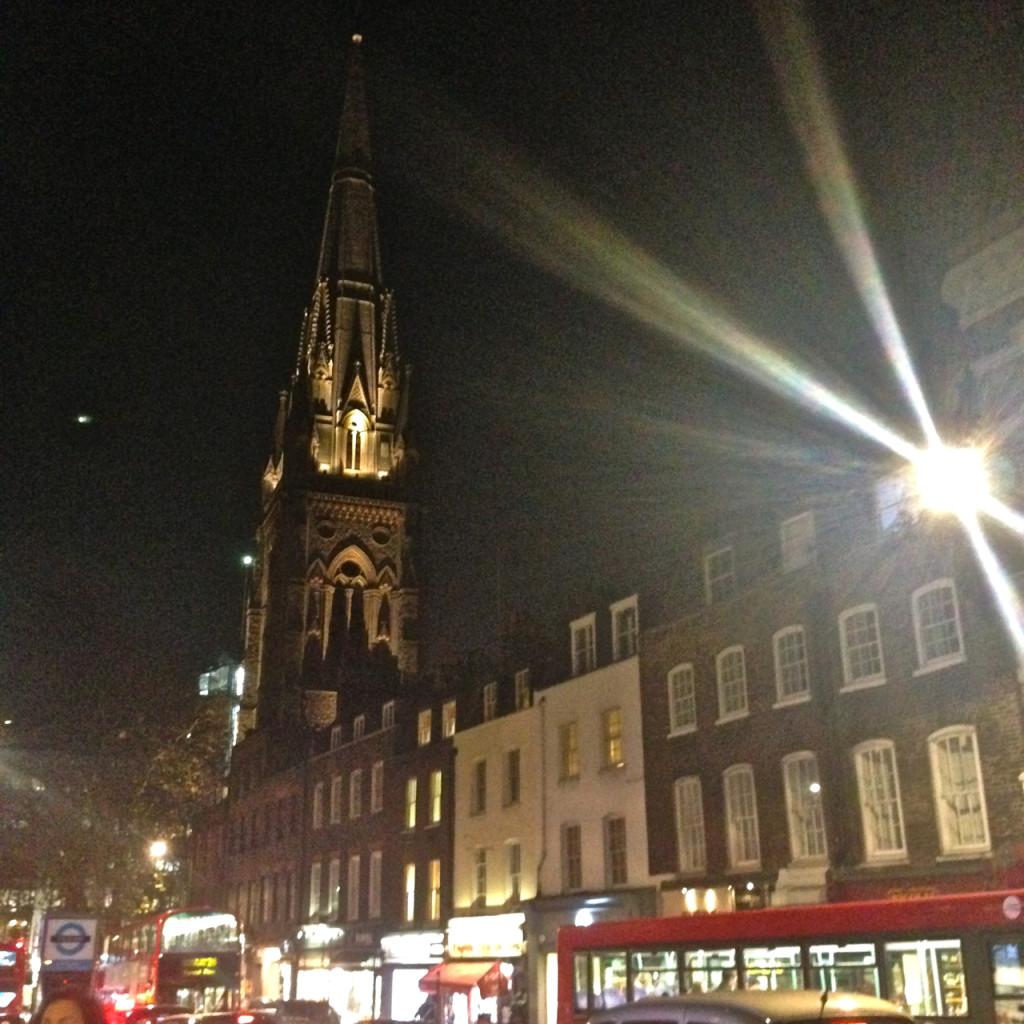 Londres meio fria e chuvosa…