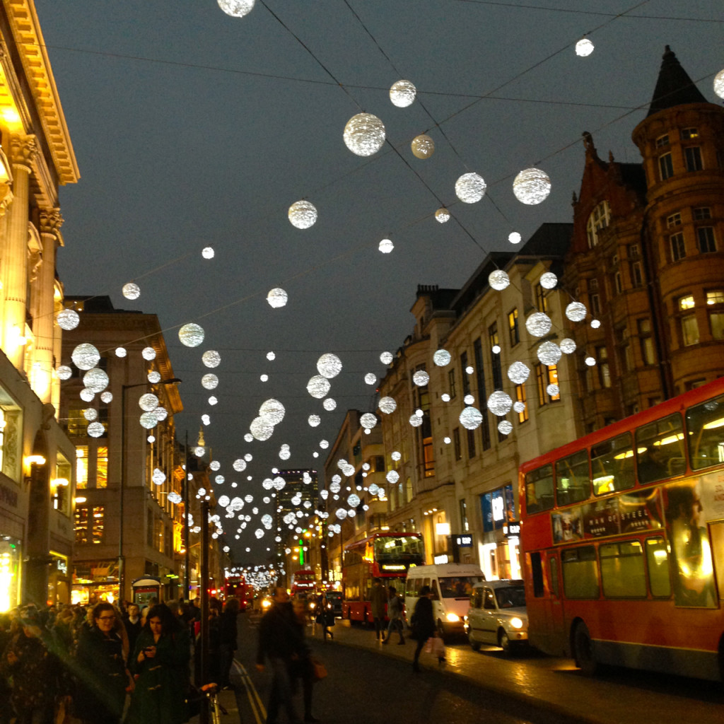 Londres no Natal