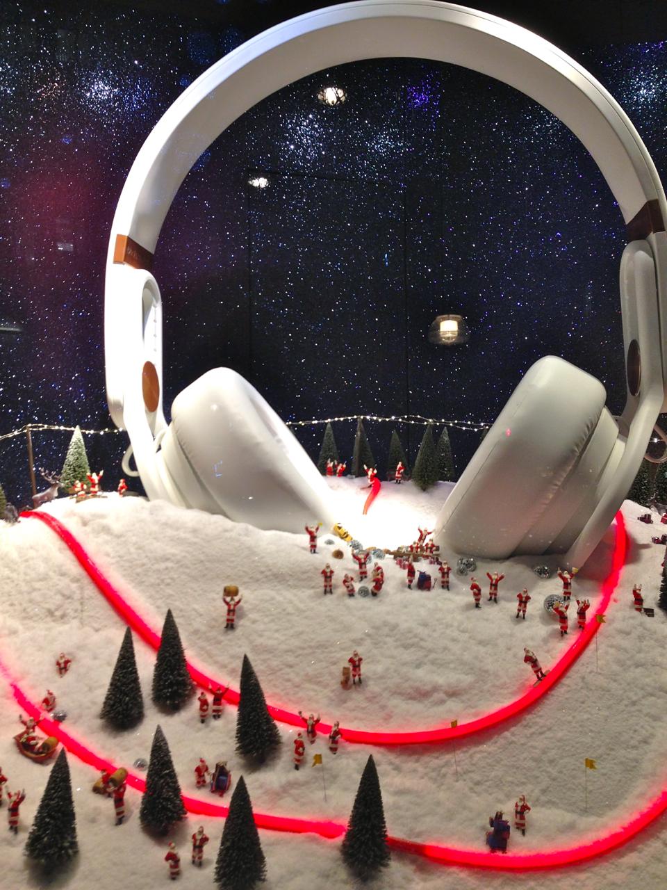 Vitrines de Natal da Selfridges em Londres!!