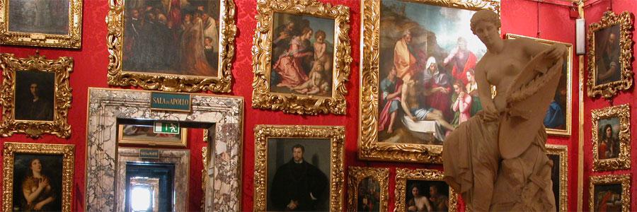 Imagem do site do Palácio Pitti