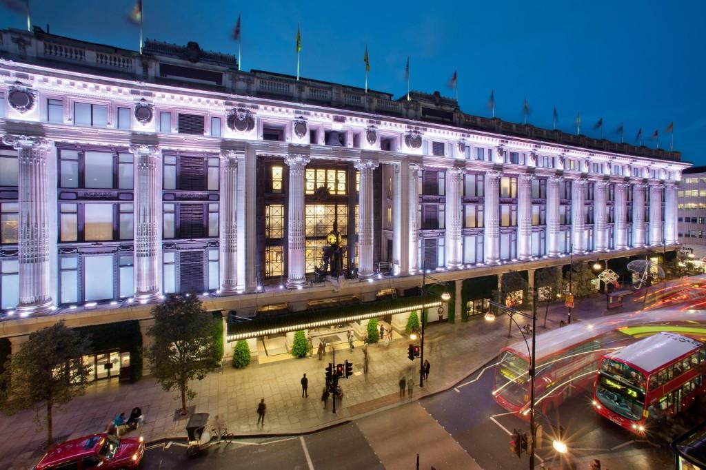 Selfridges na Oxford Street em Londres, imagem da Luxuo.com