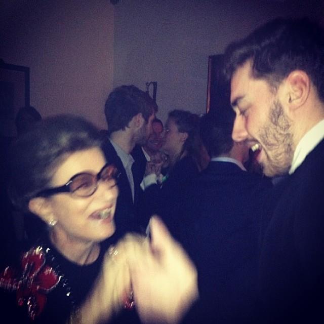 Reaprender a dançar com meu neto Cosimo: adorei!