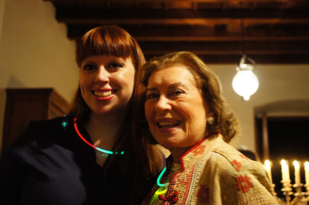 A Bianca e Tia Bibi adoraram os colares!!