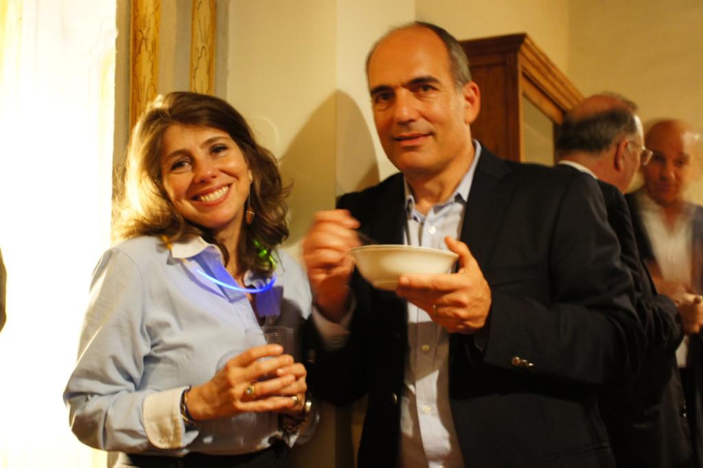 Minha irmã Alessandra e seu marido Carlos