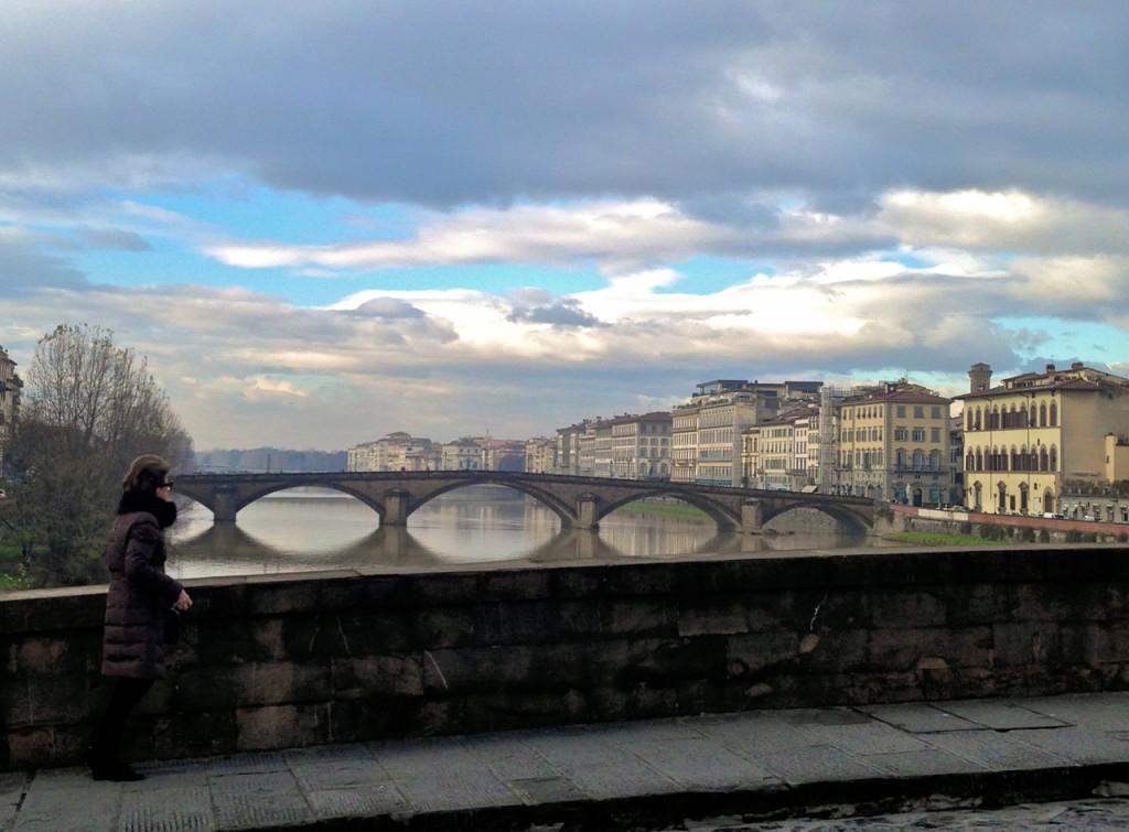 Costanza adorando Florença...