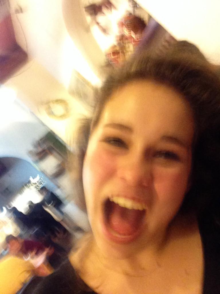 Selfie by Allegra...