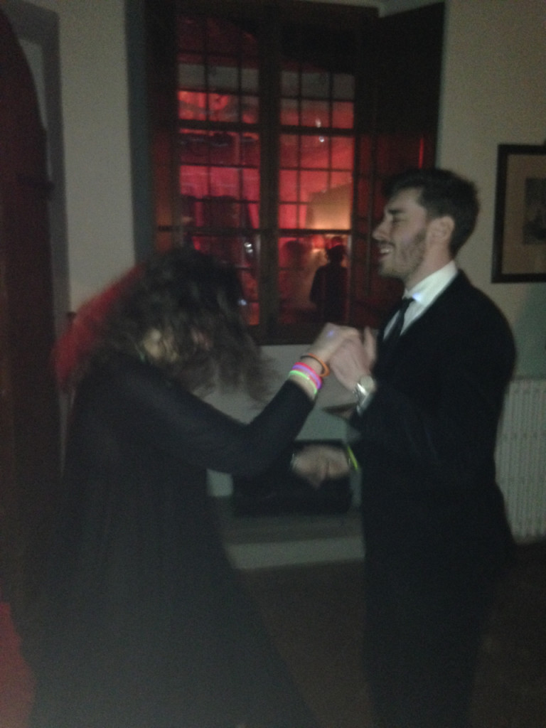 Allegra e Cosimo dançando juntos!!