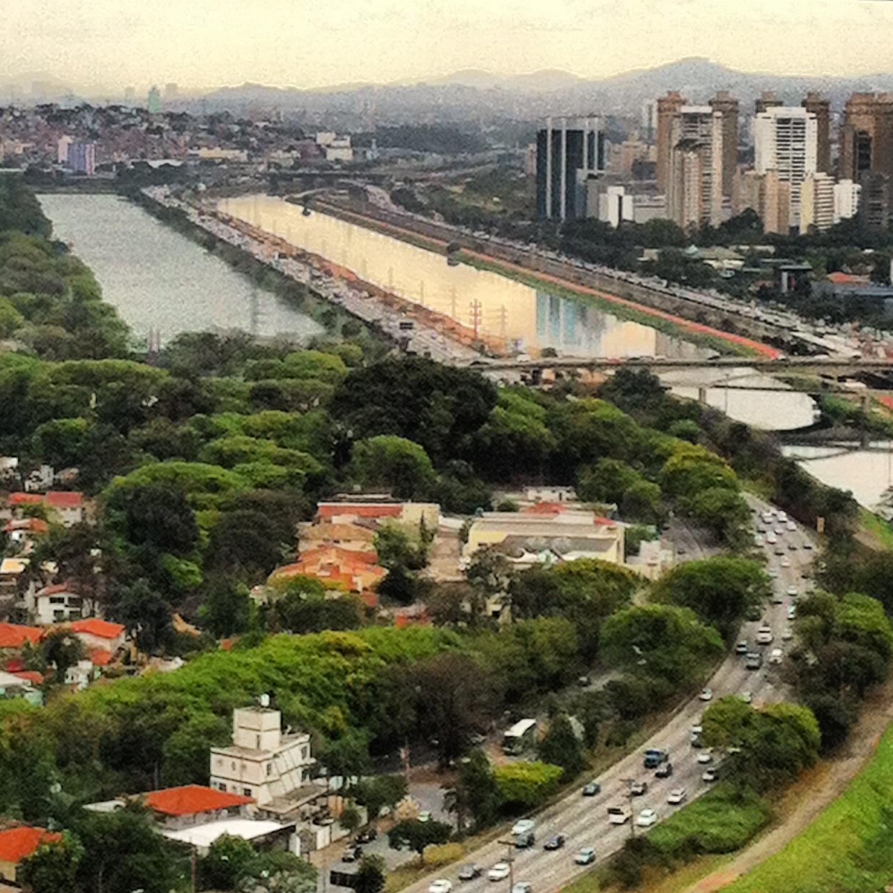 Marginal do rio Pinheiros. Vamos acreditar de verdade na revitalização do rio