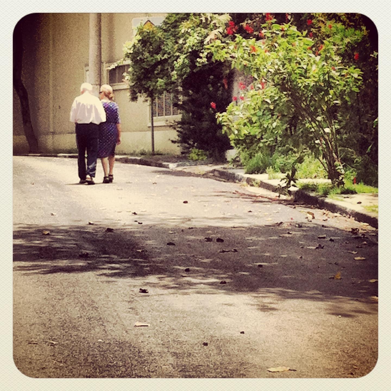 O amor. O companheirismo...