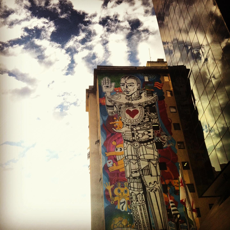 As grafites da cidade, Av. Paulista