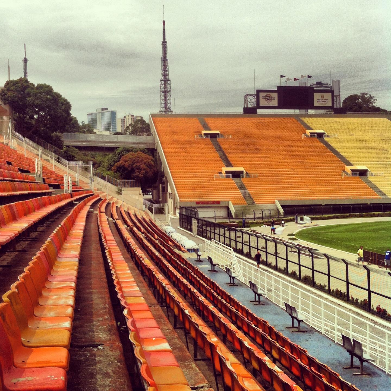 Estádio Municipal Paulo Machado de Carvalho, o Pacaembú! É nosso! Praça Charles Miller, s/número