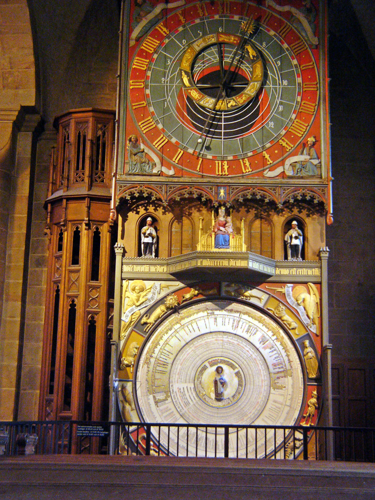 Interior da Catedral de Lund, na Suécia.