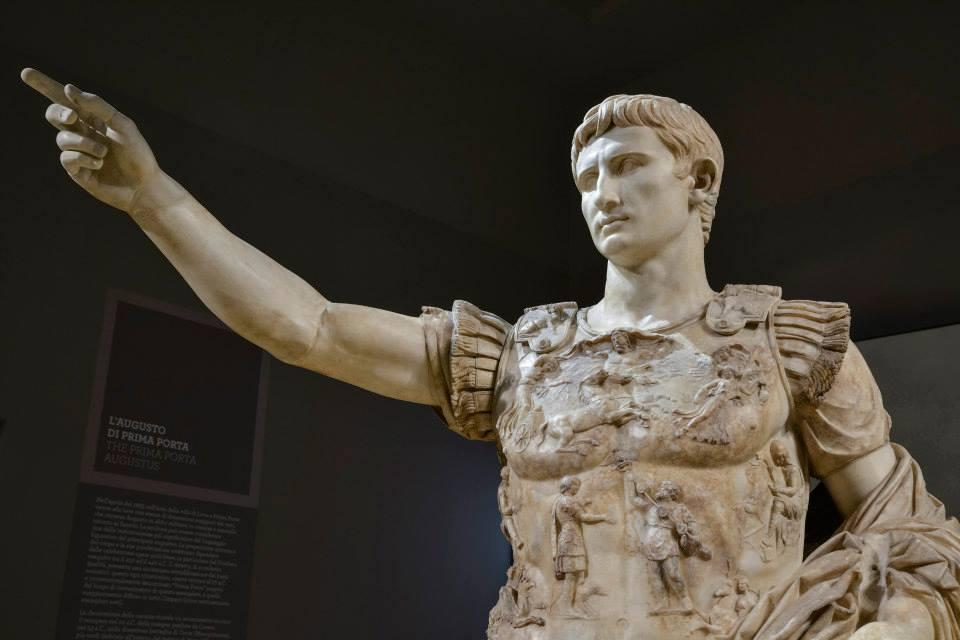 Estátua de Augusto na Scuderia del Quirinale