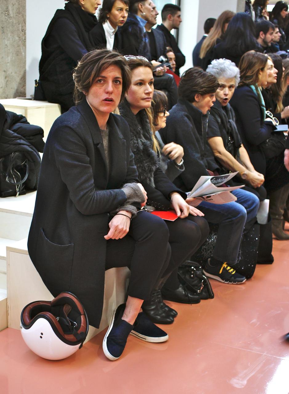 A maior tendência da semana de moda de Milão