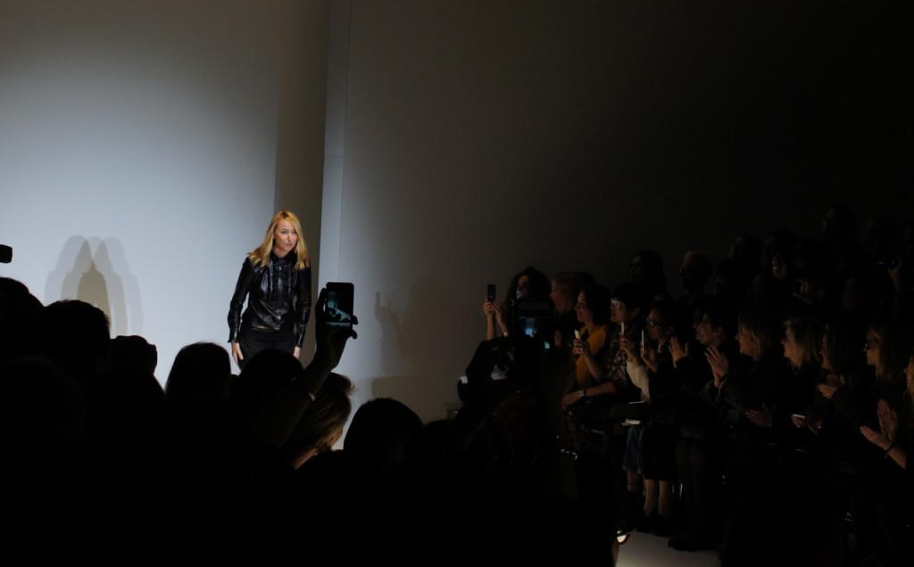 Frida Giannini, diretora criativa da Gucci.