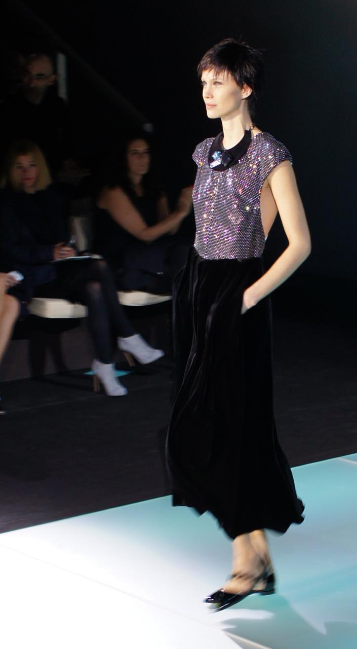 Semana de moda de Milão, imagens do terceiro dia…