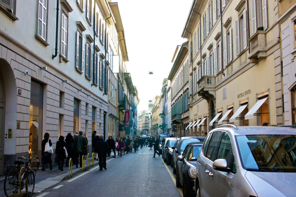 Via Sant'Andrea, Milão