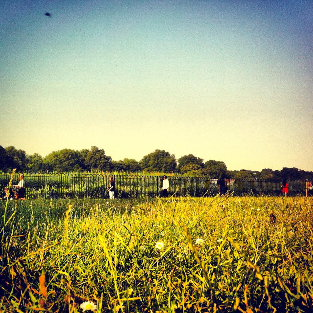 Ah o Verão em Londres! Hyde Park