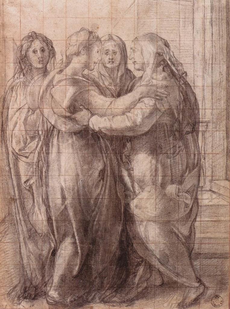 Jacopo_Pontormo_-_Visitation_-_WGA18127