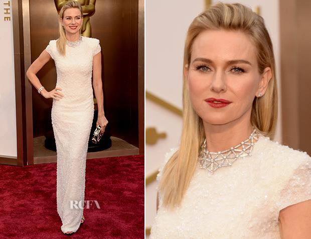 Se devo eleger uma, a Naomi Watts em Calvin Klein estava muito elegante.