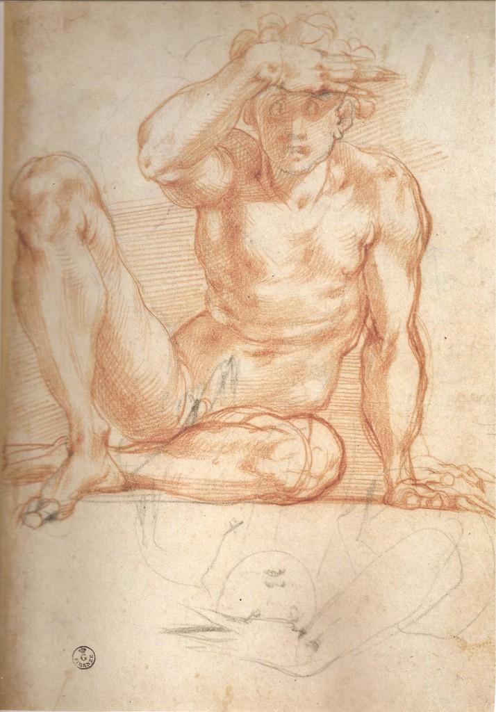 Pontormo_-_Disegno_preparatorio_Poggio_Caiano_001