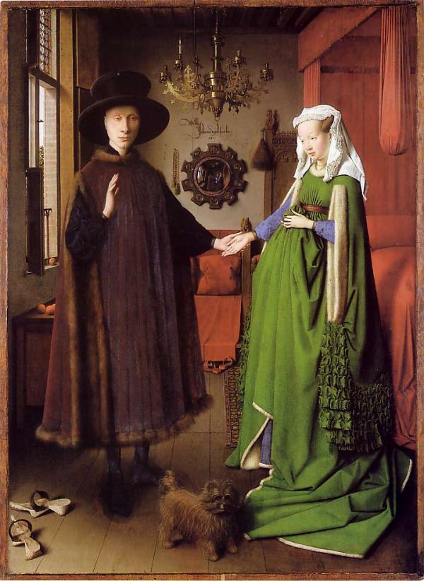 Van Eyk casal arnolfini