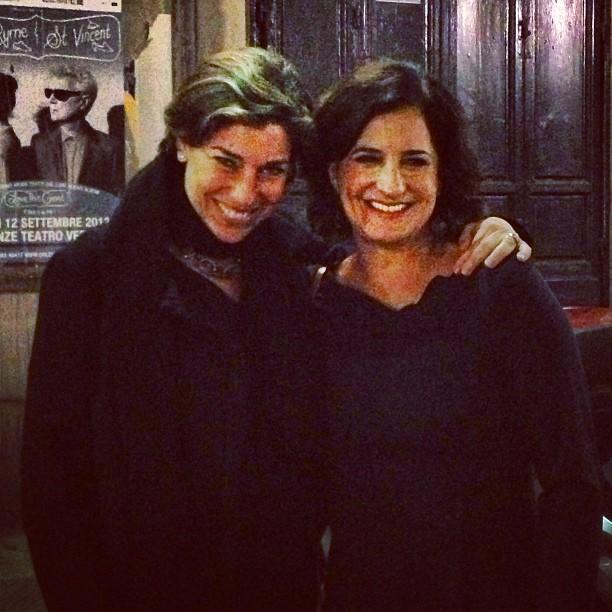 Com Mônica em Florença