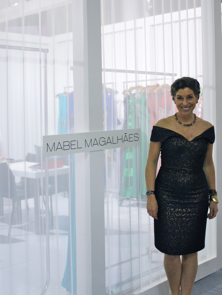 Fui visitar o stand dos queridos na Mabel Magalhães...