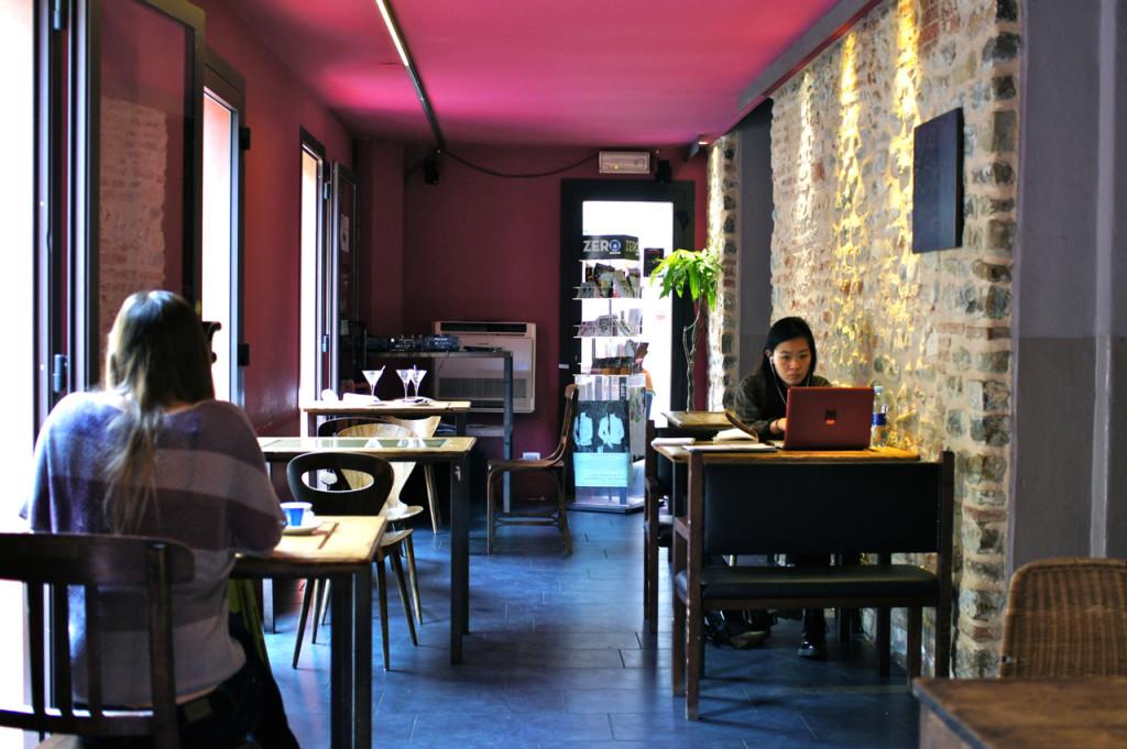 O café Letterario do Le Murate