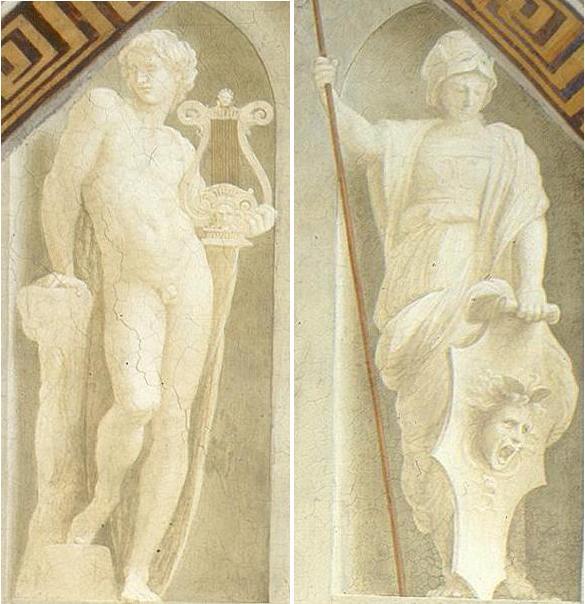 Apolo e Atena