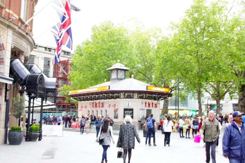 TKTS no Leicester Square tem os bilhetes com maior desconto da cidade!