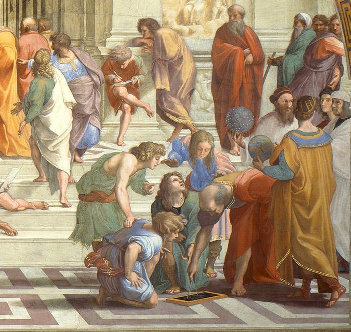 Euclides e Ptolomeu