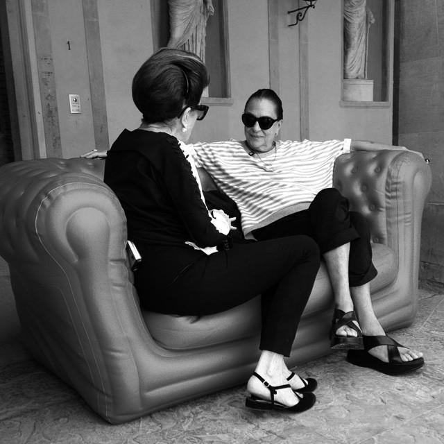 Costanza e Marilu na Toscana!!