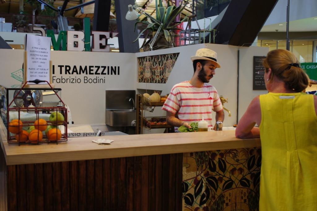 Tramezzino (sanduíche com pão de forma)