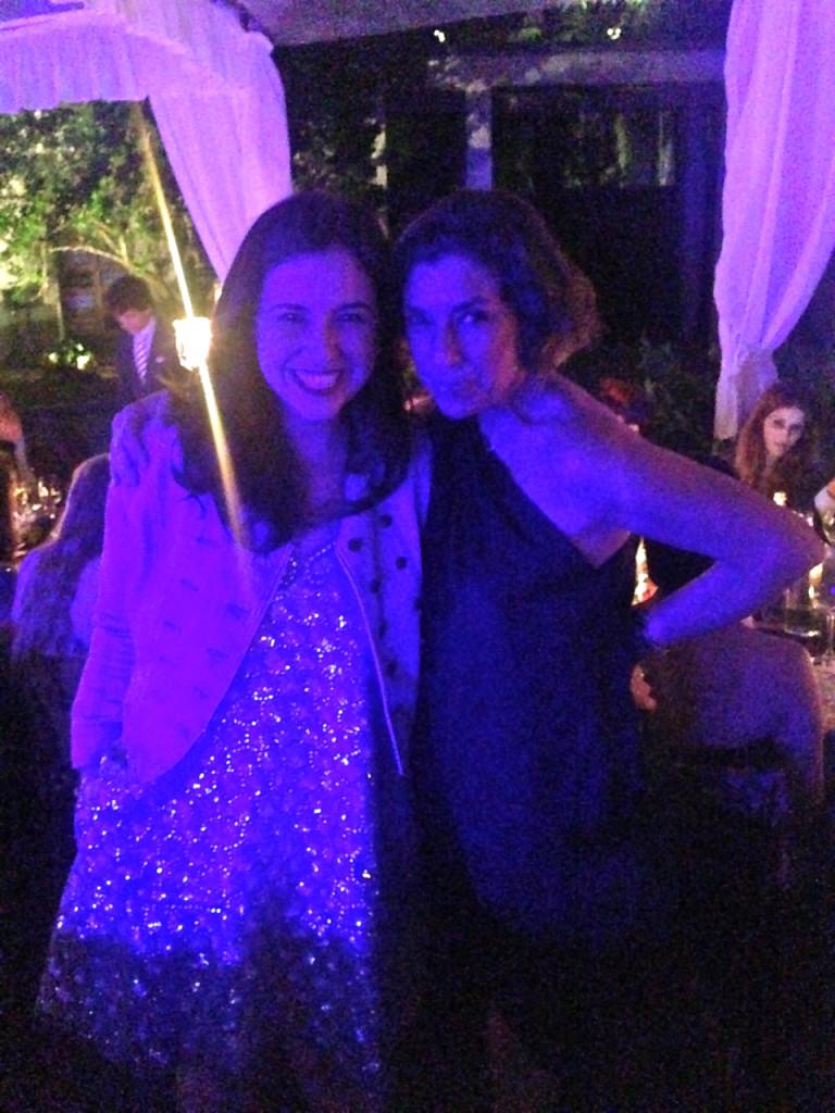 Com a grande amiga Paula Cademartori