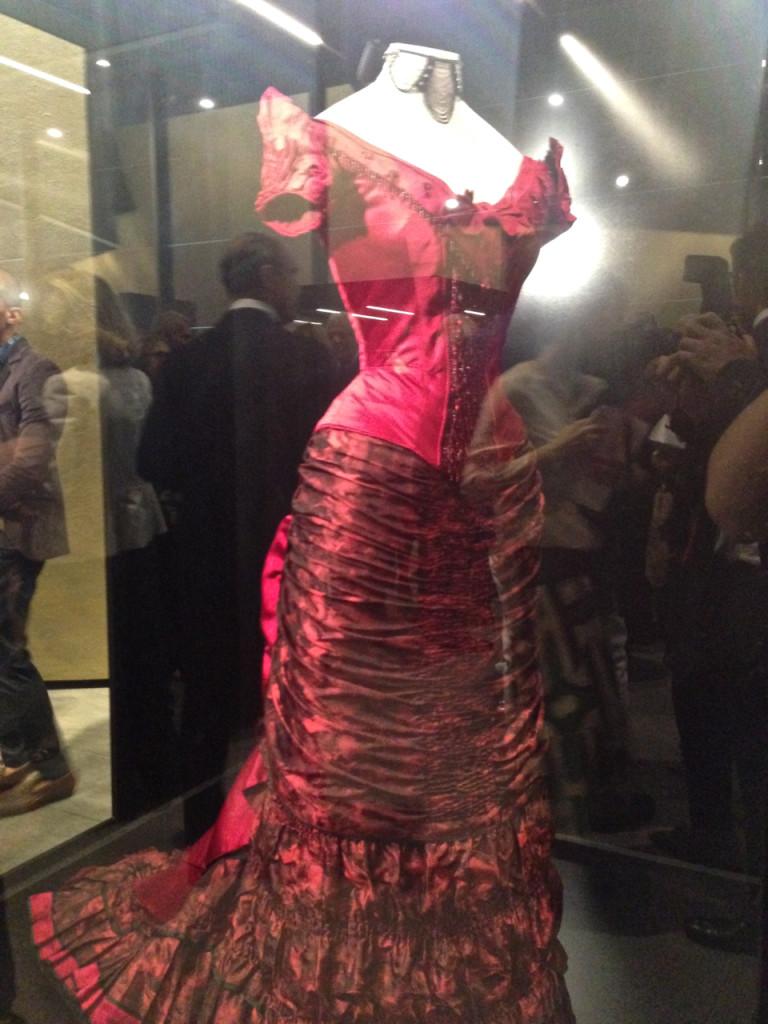 Antes do concerto vimos uma exposição dos vestidos para operas e filmes da Sartoria Tirelli. Este é do filme de 93, Idade da Inocência por Martin Scorsese e vestido po Michelle Pfeiffer.