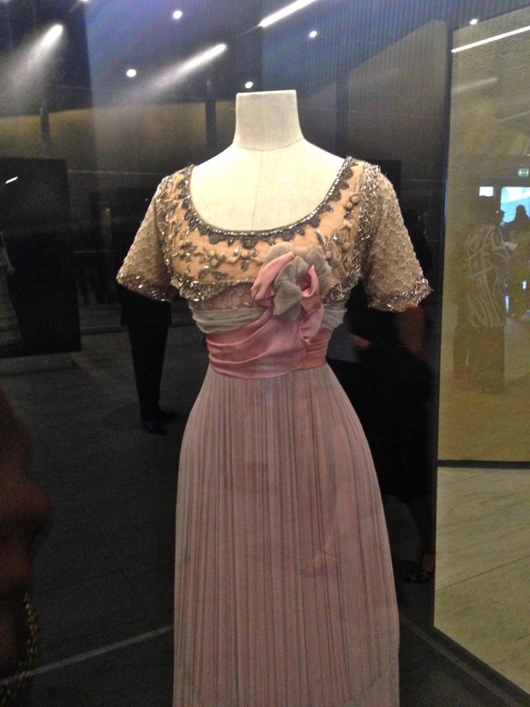 Morte em Veneza de 71 com direção de Luchino Visconti e vestido por Silvana Mangano