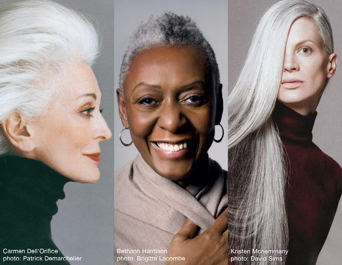 7513addd6dc05 Mostrar teus cabelos brancos, com orgulho!
