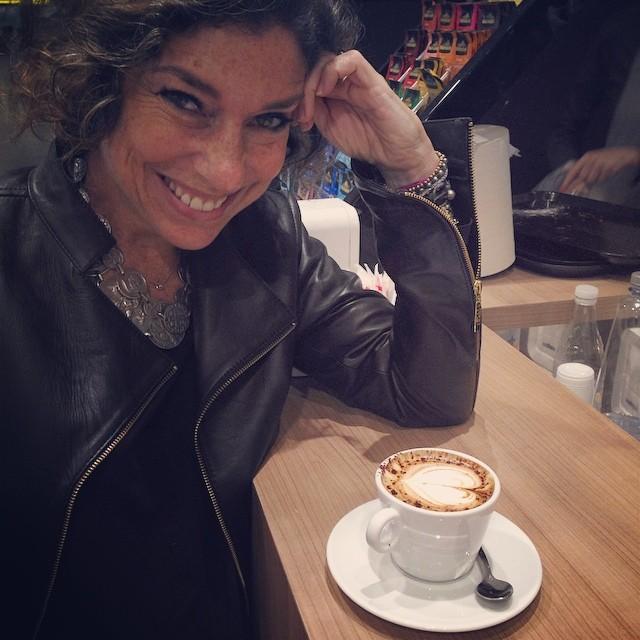 Último cappuccino italiano.