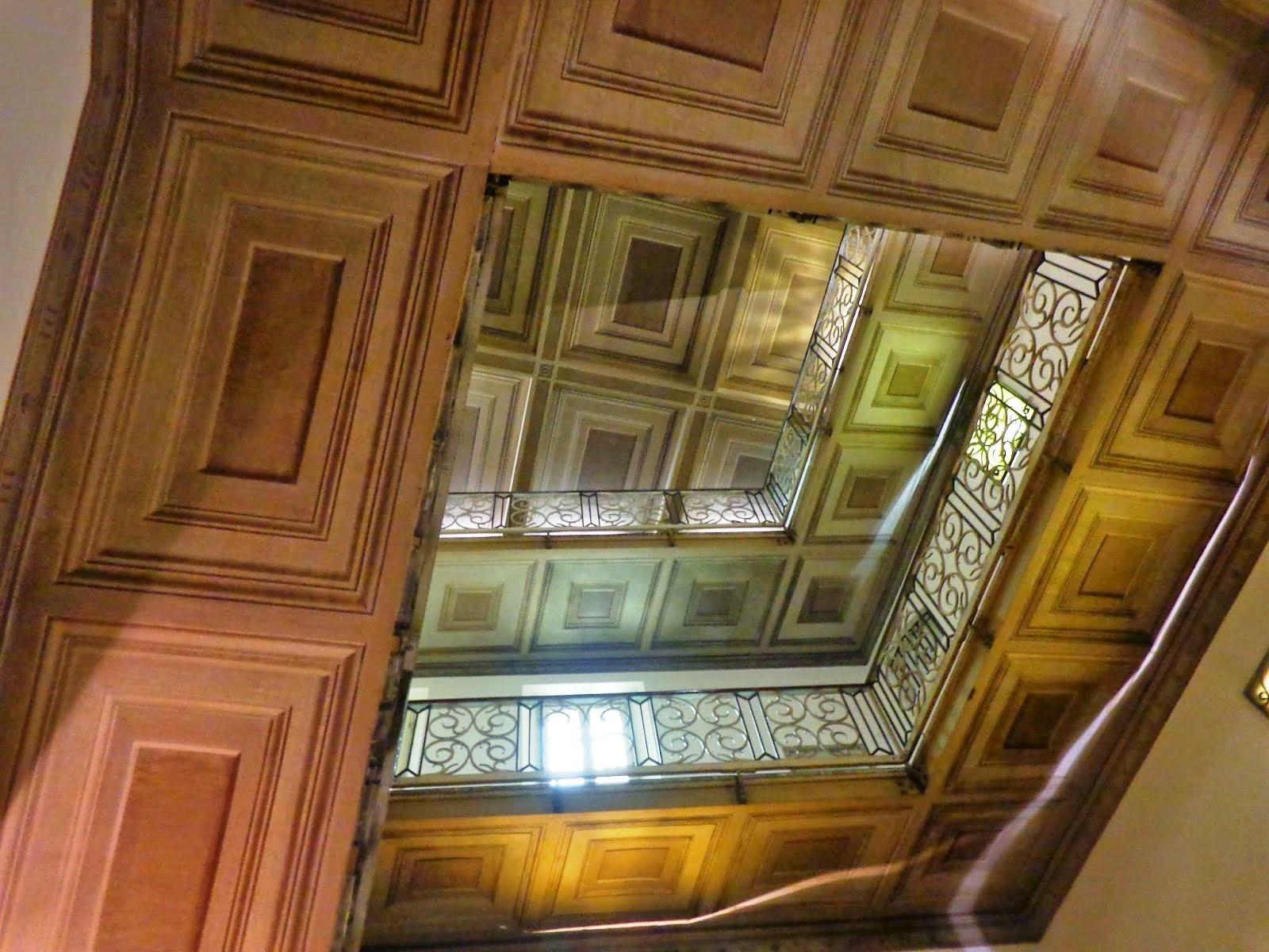 scadaria do Palazzo Cenci.