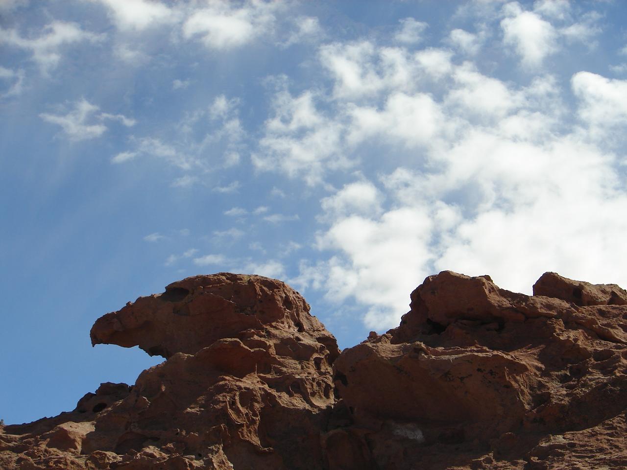 As esculturas naturais do Atacama