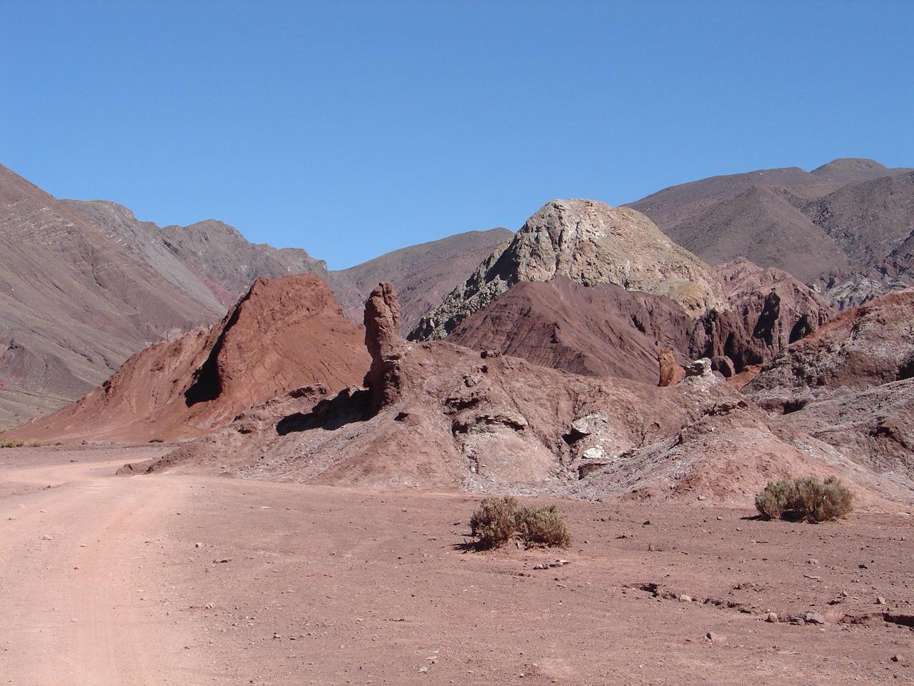 O Vale do Arco-Iris e suas formações