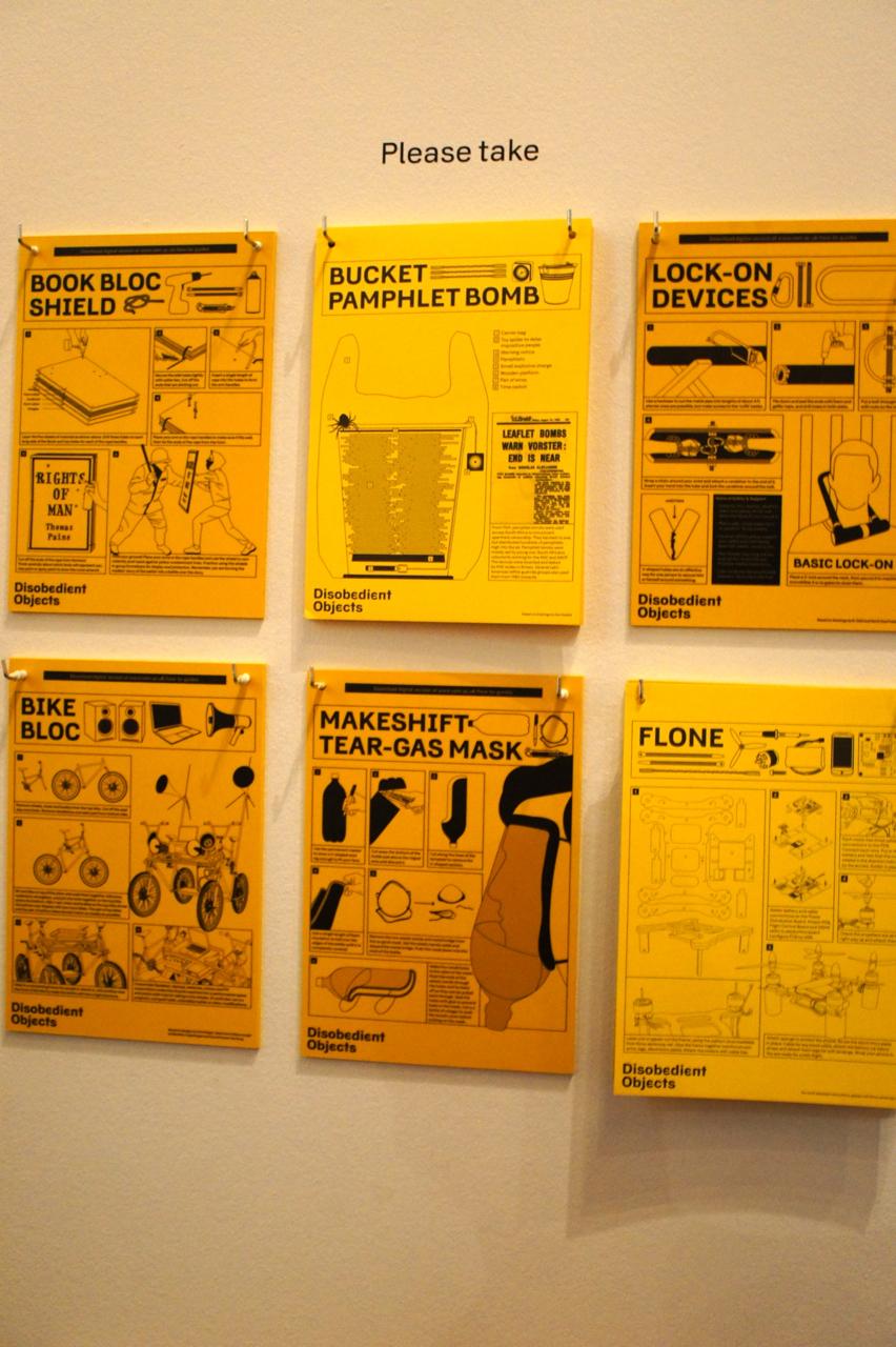 """As instruções de alguns dos """"objetos desobedientes"""""""