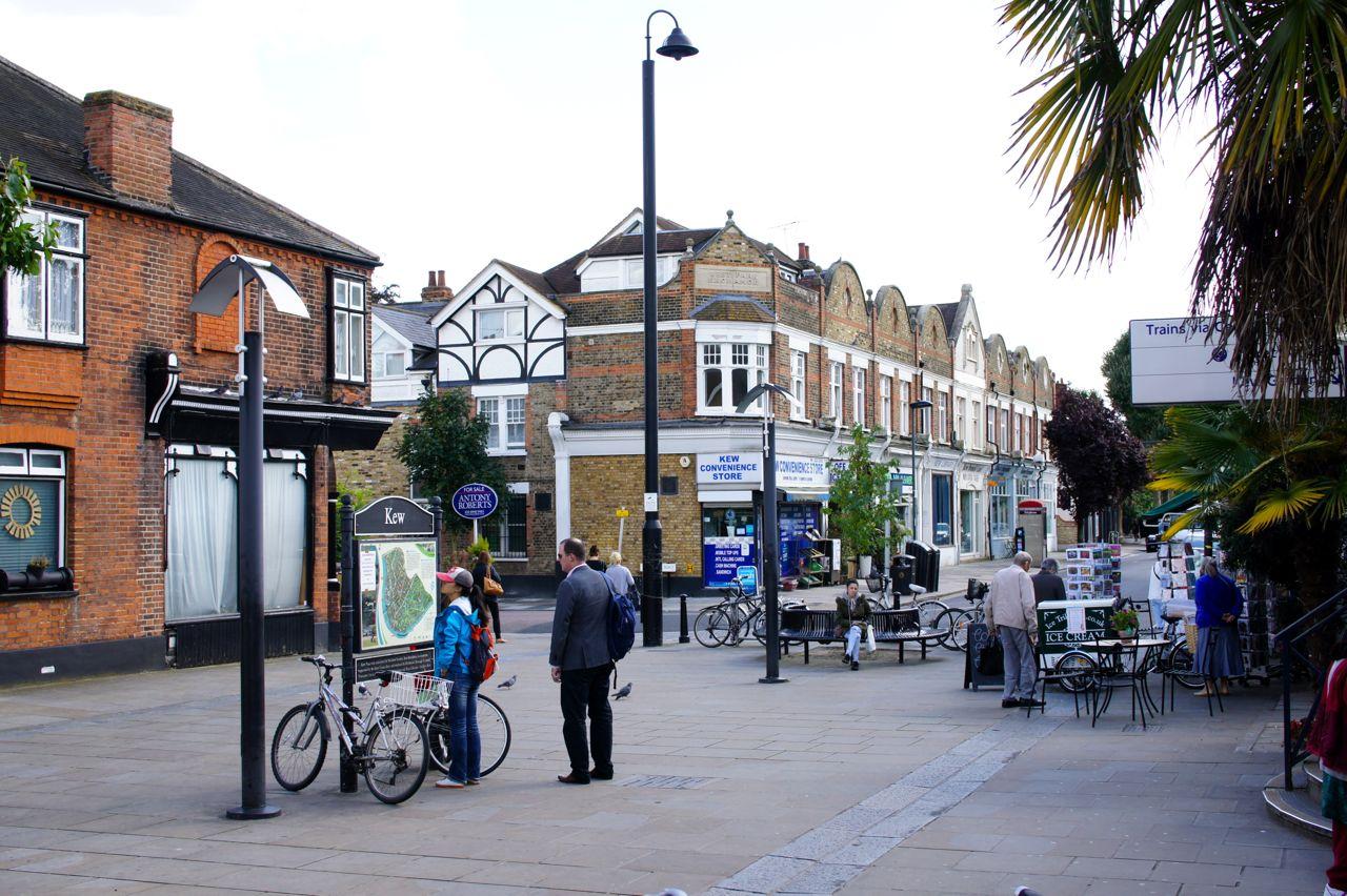 A cidadezinha de Kew
